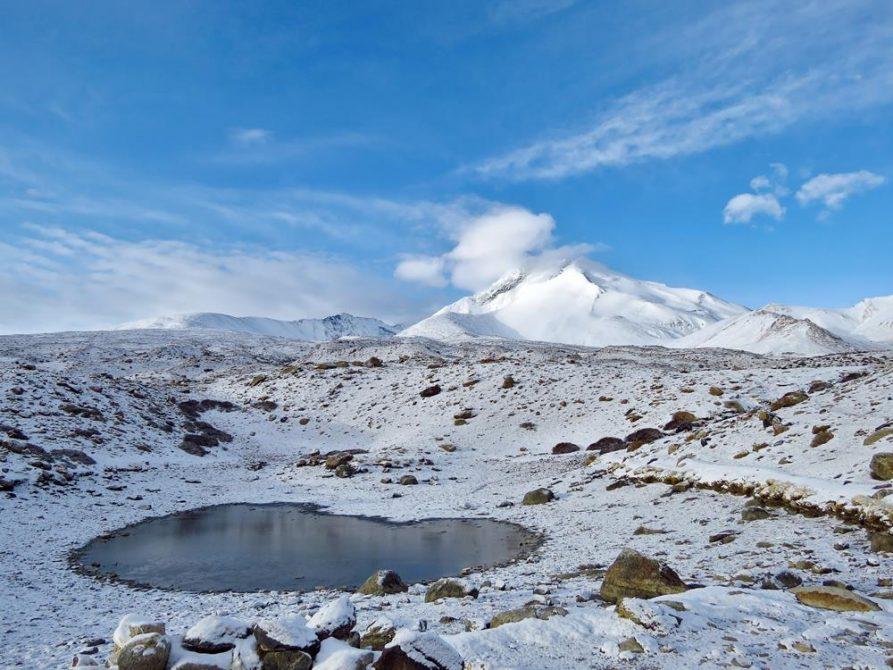 Hochgebirgssee, Ladakh, Indien