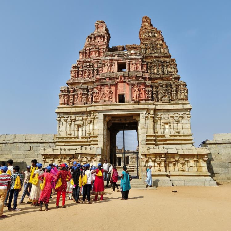 Vitthala-Tempel, Hampi, Indien
