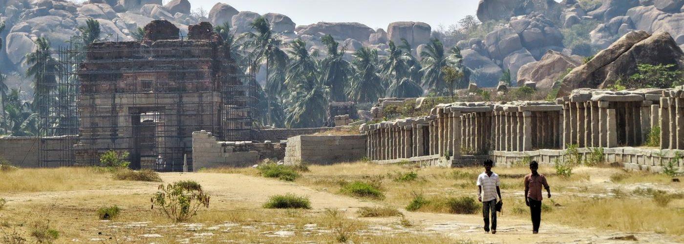 Hampi, Karanataka, Indien