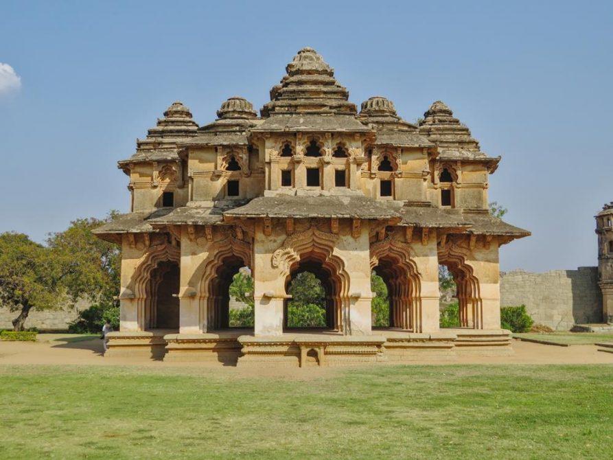 Plast der Königin, Hampi, Indien