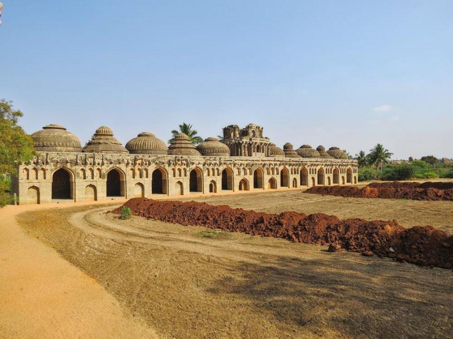 Elefantenstallungen, Hampi, Indien