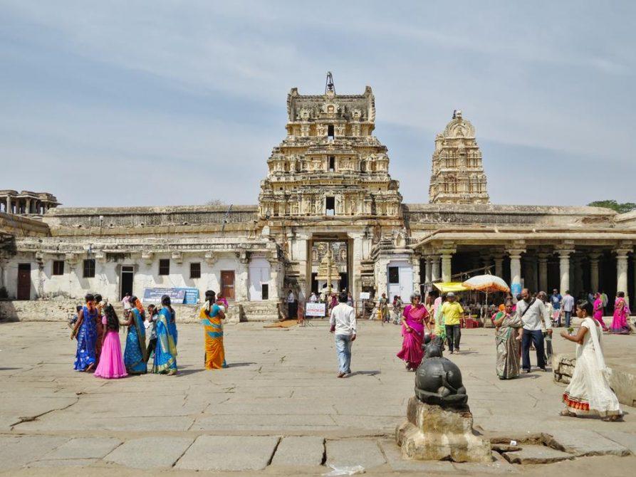 Virupaksha Tempel, Hampi, Indien