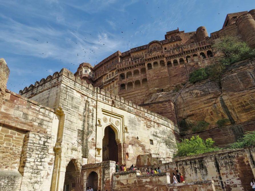 Mehrangarh Festung, Jodhpur, Rajasthan