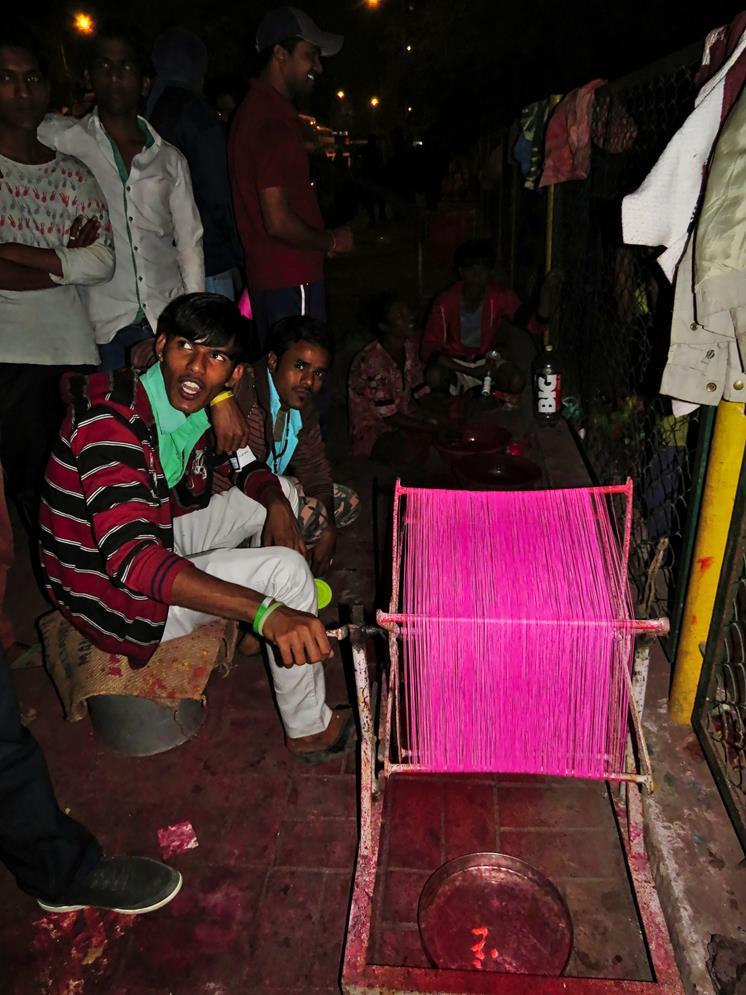 Patang Basar, Ahmedabad, Indien