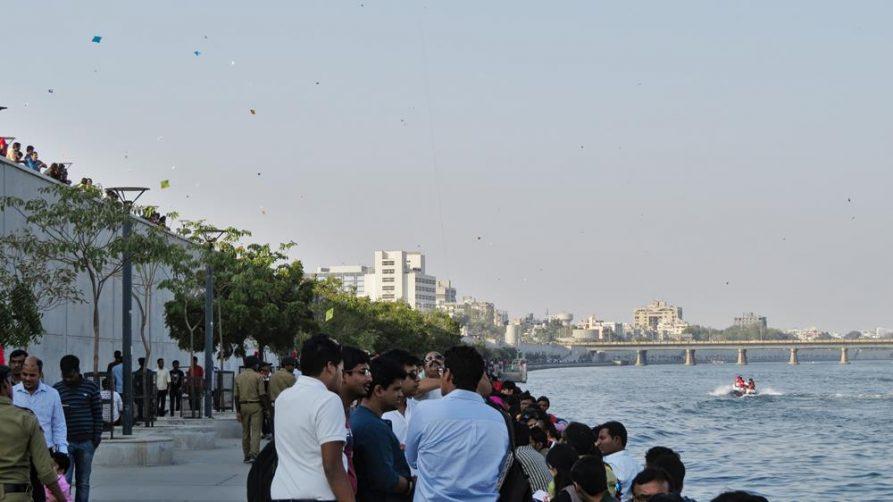 Uttarayan, Promenade in Ahmedabad, Indien