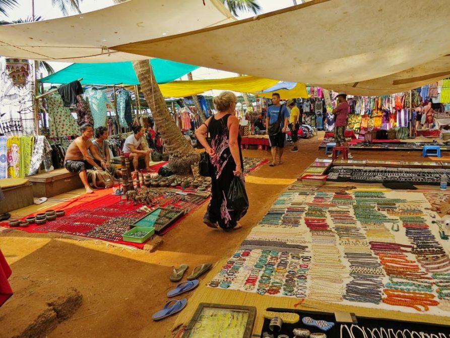 Flohmarkt, Anjuna, Goa, Indien