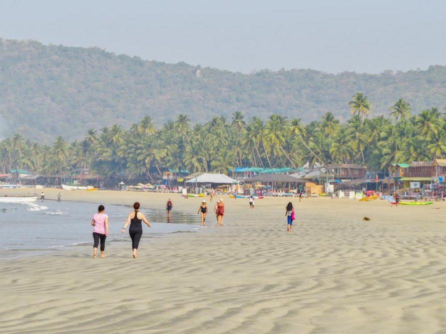 Strand von Palolem, Goa, Indien