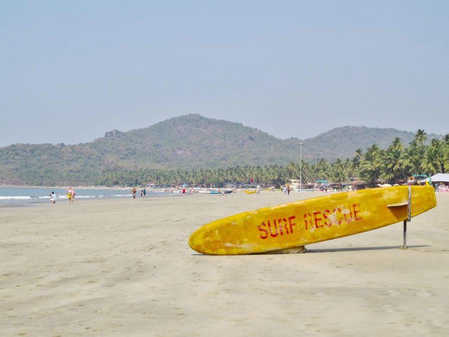Surf Rescue, Palolem, Goa