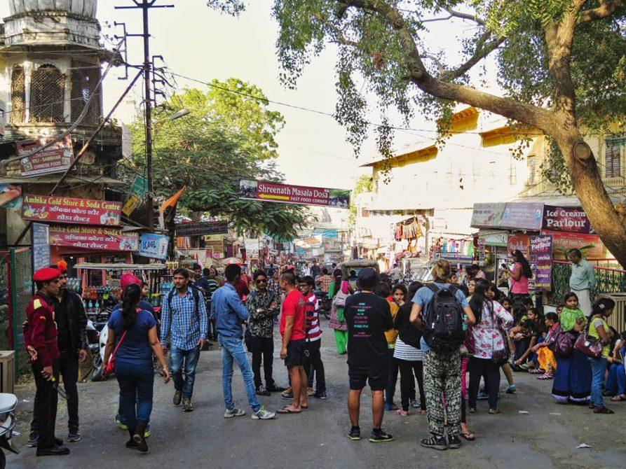 Marktgasse in Udaipur, Rajasthan