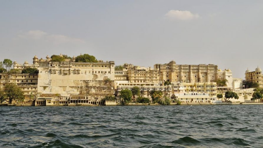 Stadtpalast in Udaipur, Rajasthan