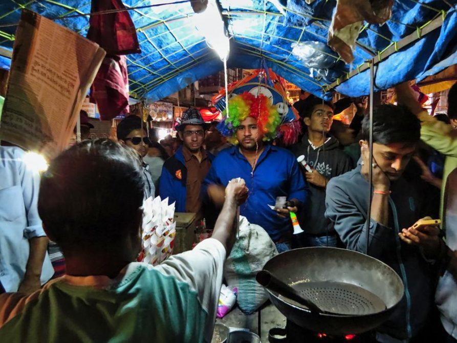 Drachenmarkt, Patang Basar, Ahmedabad, Indien
