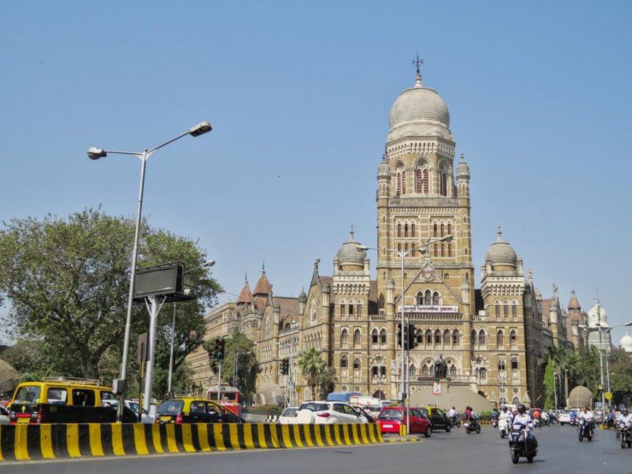 koloniales Gebäude, Mumbai, Indien