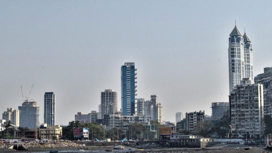 Skyline, Mumbai, Indien