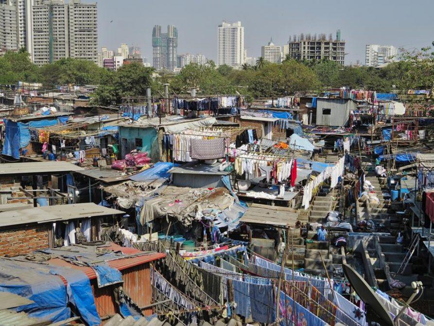 Dhobi Ghat, Mumbai, Indien