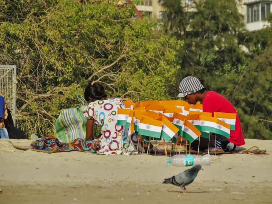 Chowpatty Strand, Mumbai, Indien