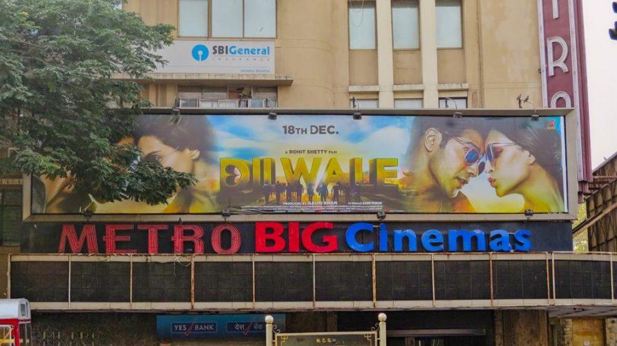 Lichtspielhaus in Mumbai, Indien