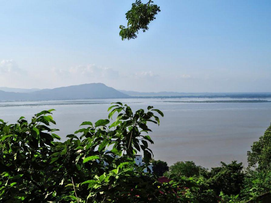 Brahmaputra, Guwahati, Assam, Indien