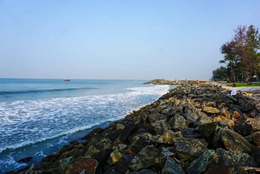 Arabisches Meer, amritapuri, aschram, kerala, Indien