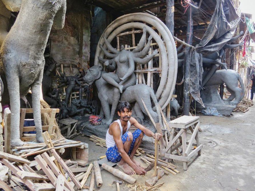 Kumartuli, Kolkata, Indien