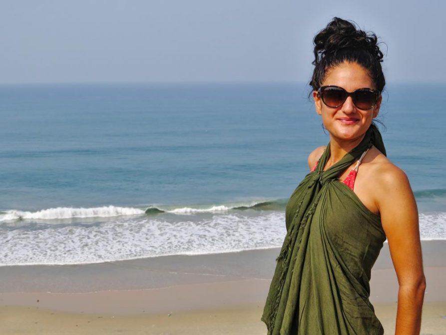 Varkala Strand, Kerala, Indien