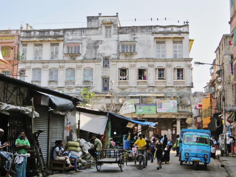 Straßenszene, Kolkata, Indien