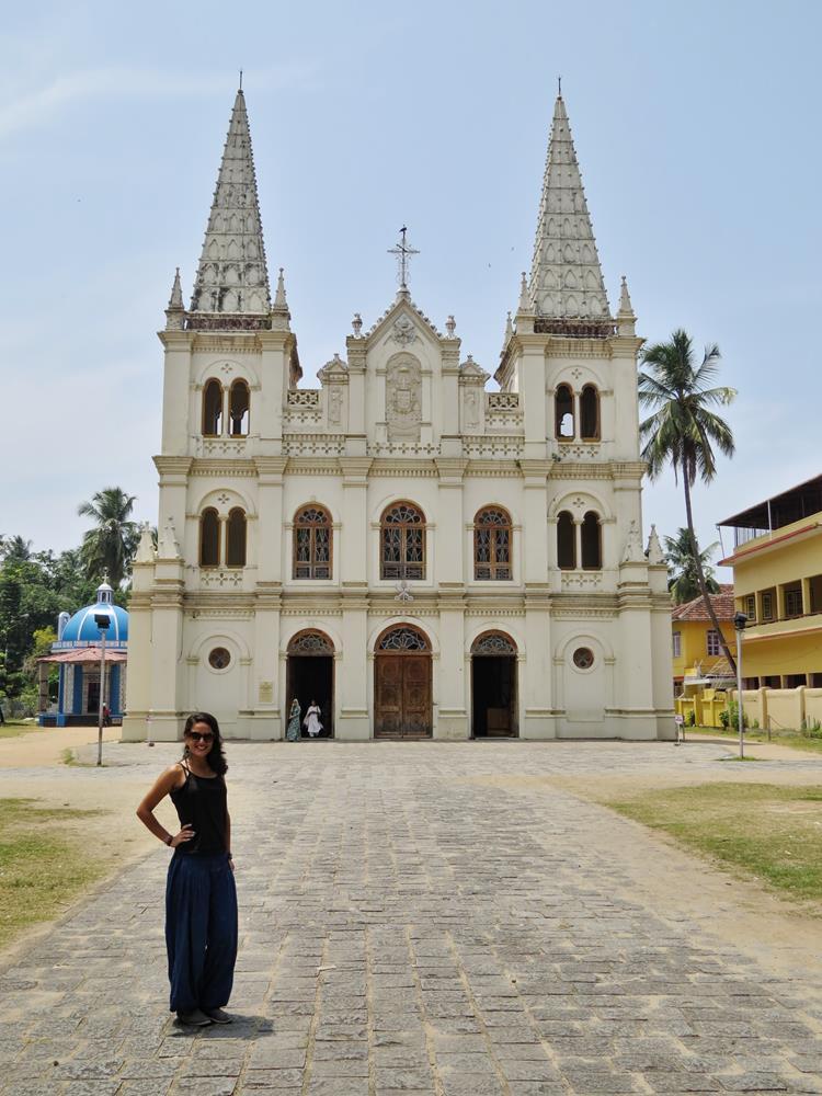 Kathedralbasilika Santa Cruz, Kochi, Kerala, Indien