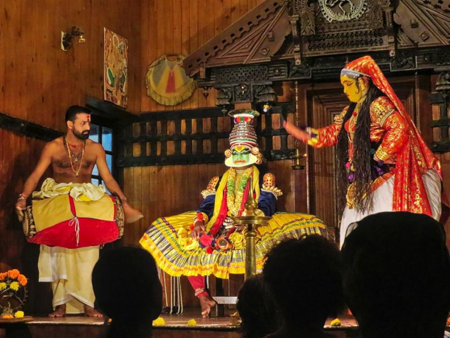 Katha Kali, Kochi, Kerala, Indien