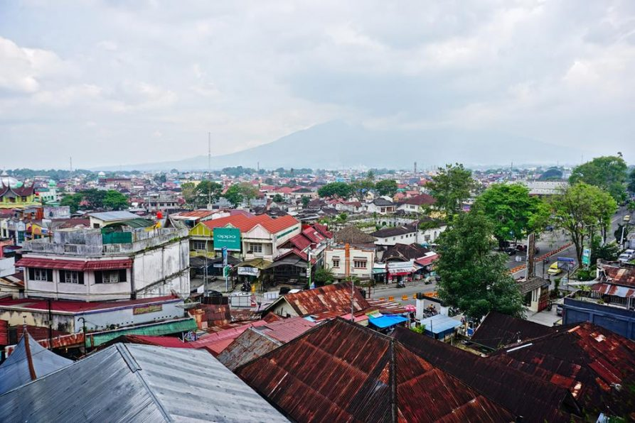 Bukittinggi, Blick auf die Stadt, Sumatra
