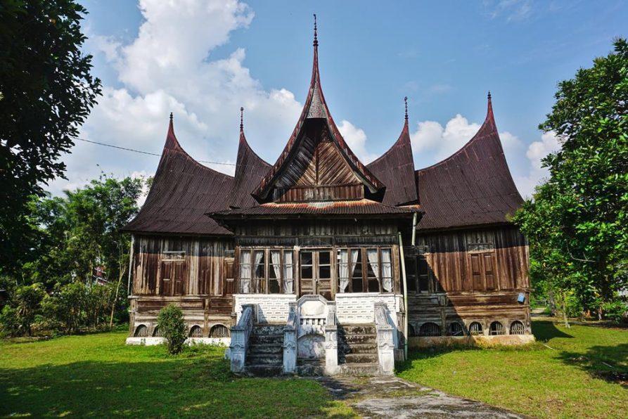 Minangkabau, Rumah Gadang,Sumatra