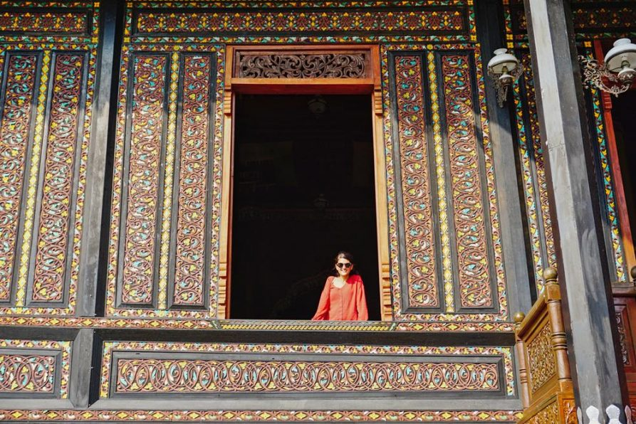 Fenster, Dekoration, Istana Pagaruyung, Minangkabau,Sumatra