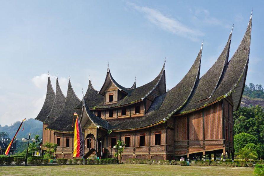 Königspalast, Pagaruyung, Minangkabau, Sumatra