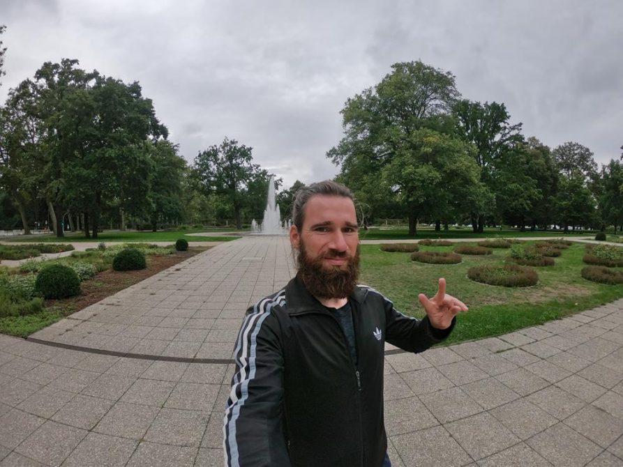 Rosengarten, Treptower Park, Mammutmarsch, Berlin