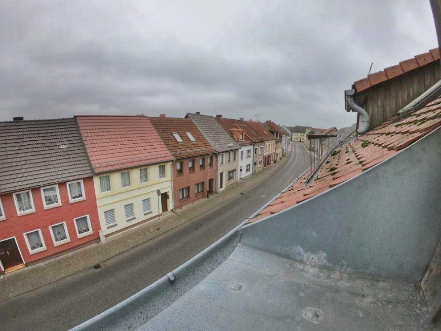 Dein Jahr in Loitz, Blick aus dem Dachgeschoss