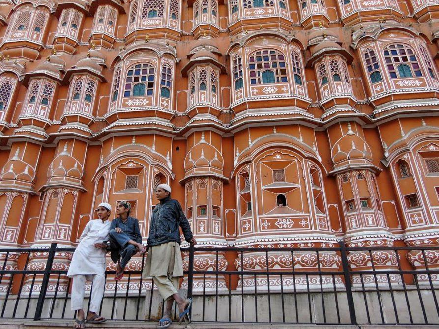 Hawa Mahal in Jaipur, Rajasthan, Indien
