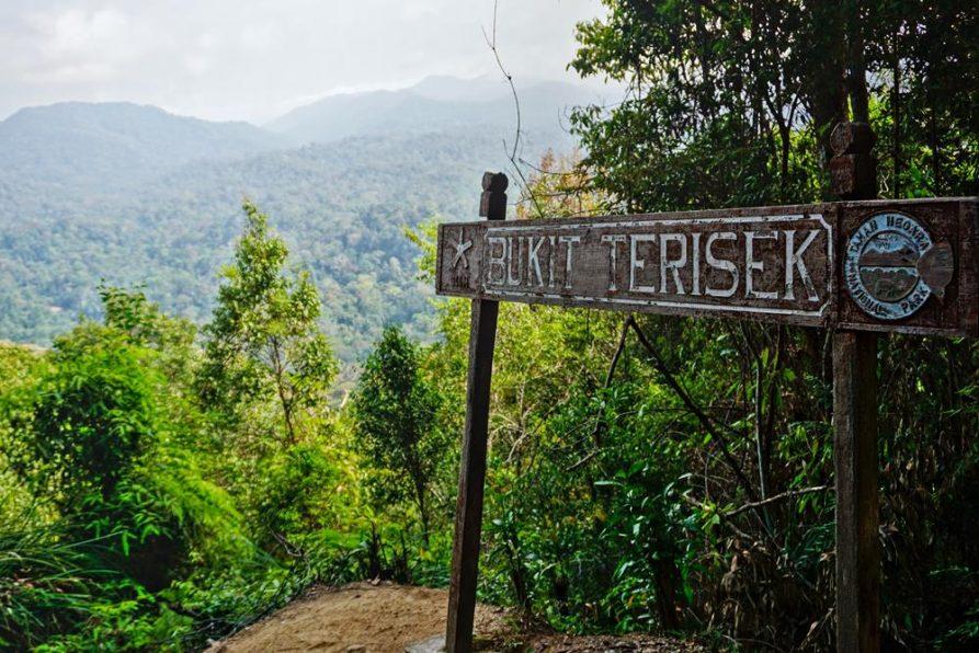 Gipfel Bukit Terisek, Taman Negara, Malaysia