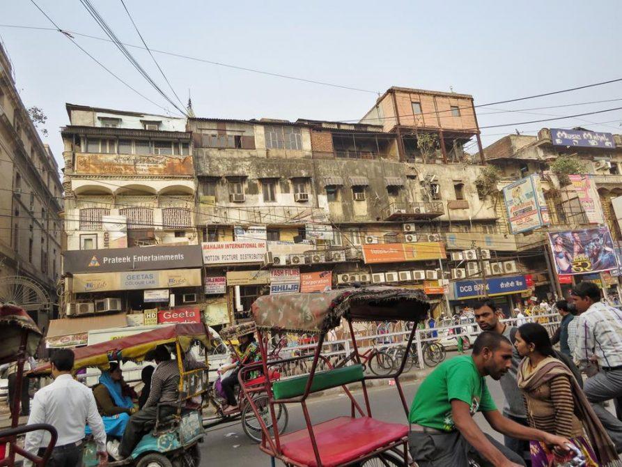 Old Delhi, Shahjahanabad, Indien