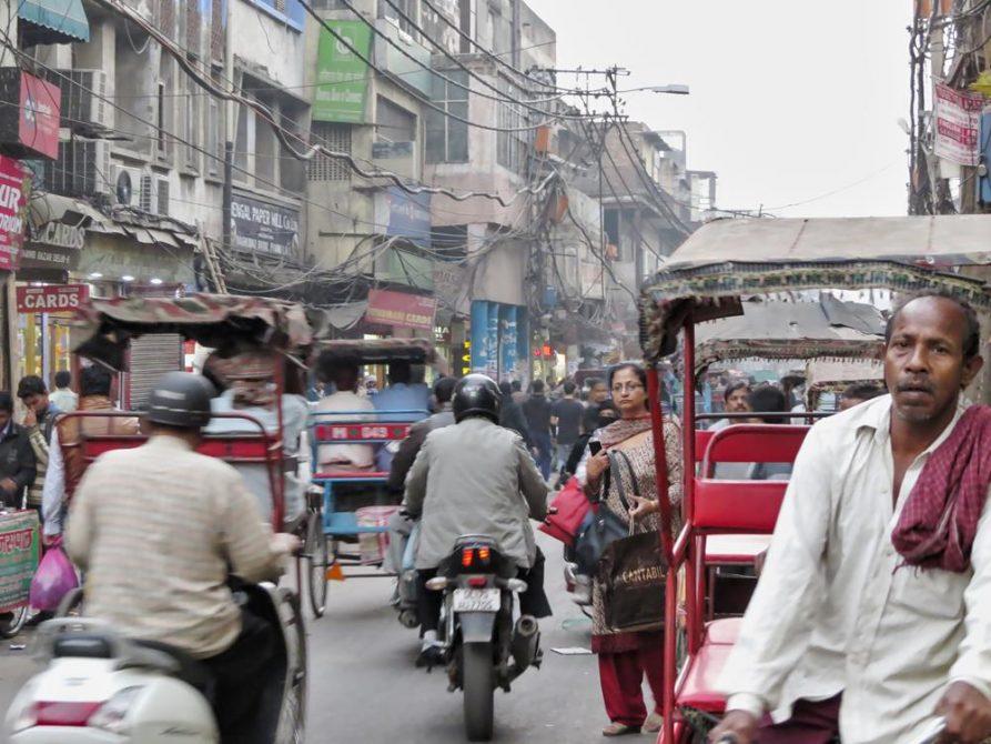 Chandni Chowk, Old Delhi, Indien