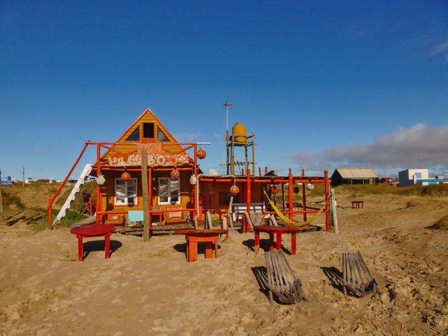 Unterkunft in Cabo Polonio, Uruguay