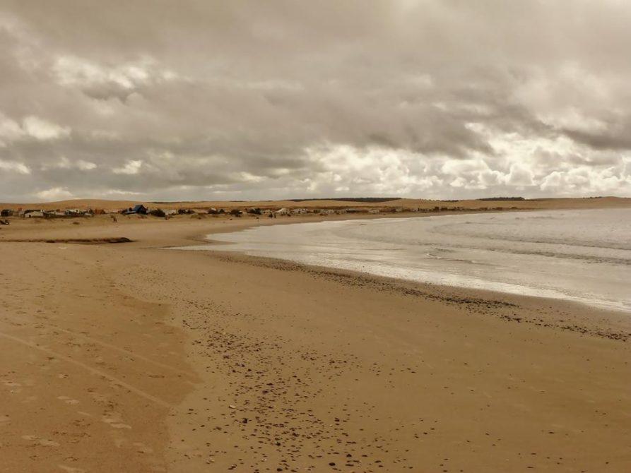 Cabo Polonio am Strand, Uruguay