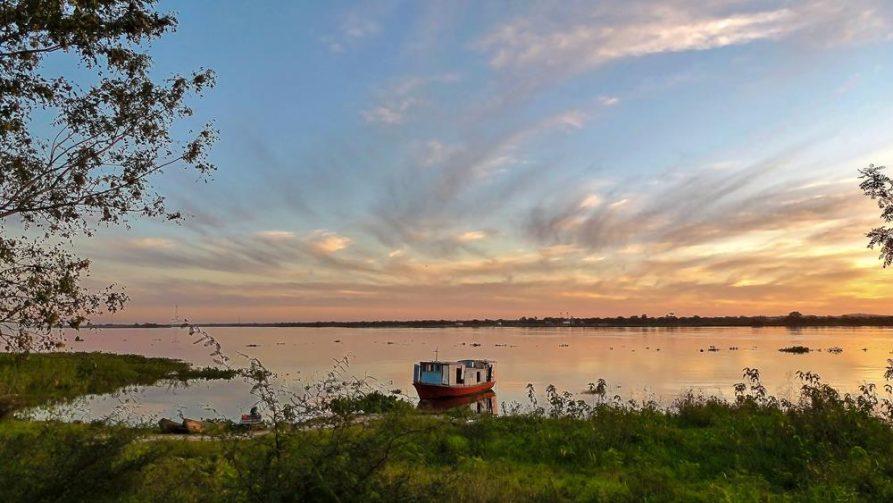 Rio Paraguay, Ufer, Paraguay
