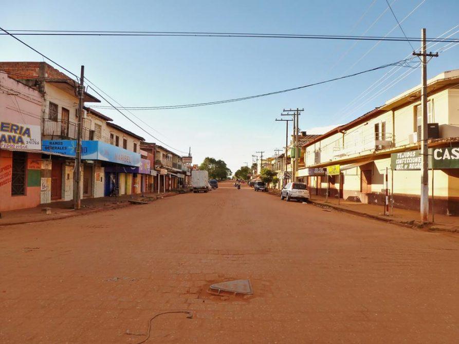 Straße in Concepción, Paraguay
