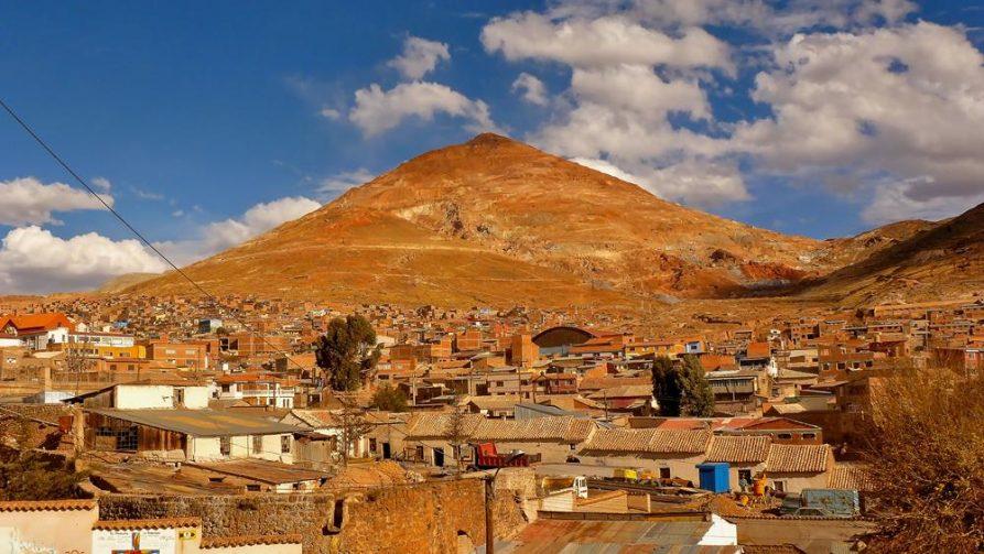 Potosi, Cerro Rico, Bolivien