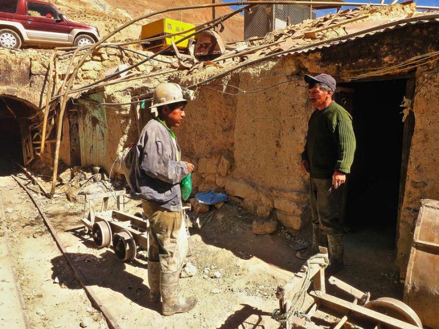 Minenarbeiter in Potosi