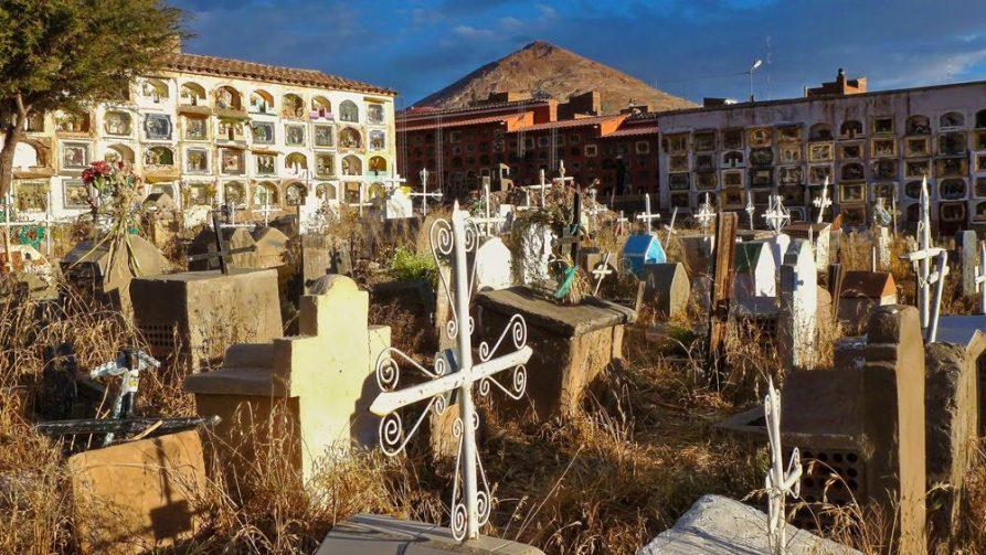 Friedhof in Potosi, Bolivien