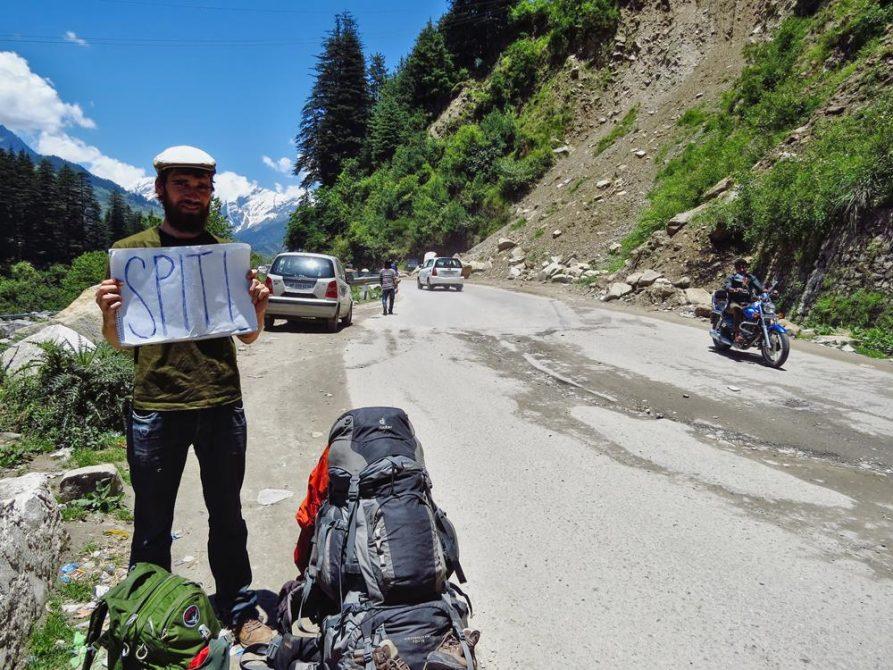 Per Anhalter im Himalaja
