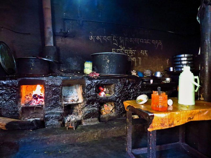 Küche, Ki Gompa, Spiti Tal, Himachal Pradesh