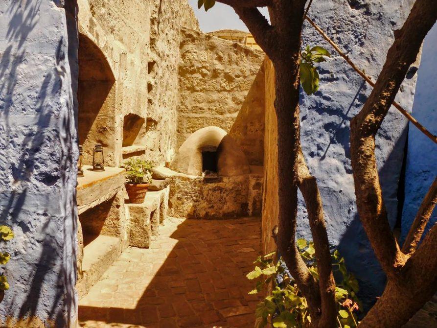 Nische im Kloster Santa Catalina, Arequipa, Peru