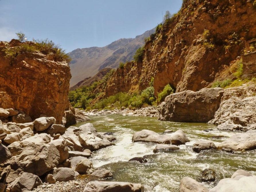 Rio Colca, Colca Canyon, Peru