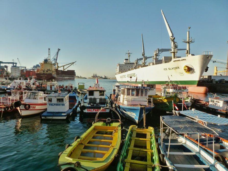 Hafen von Valparaiso, Chile