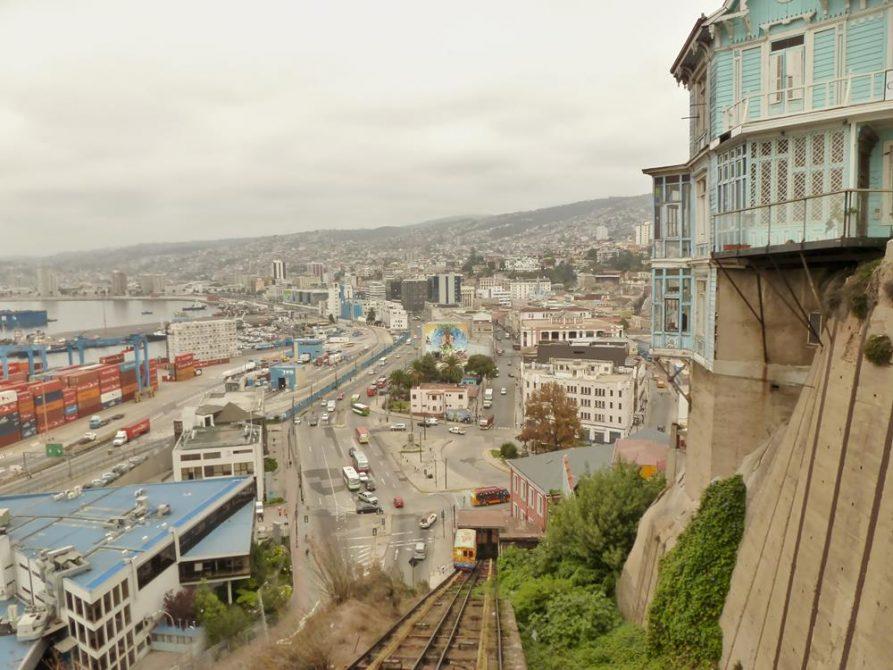 Valparaiso und die Hügel, Chile